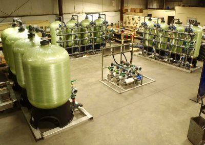 Sophisticated water filtration system setup done by Diamond Water Systems in Chicapee, MA