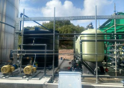 Water filtration system in Scotland