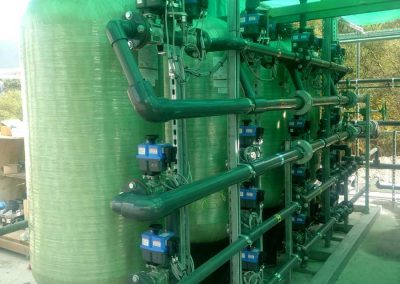 Industrial water filtrations system in Scotland